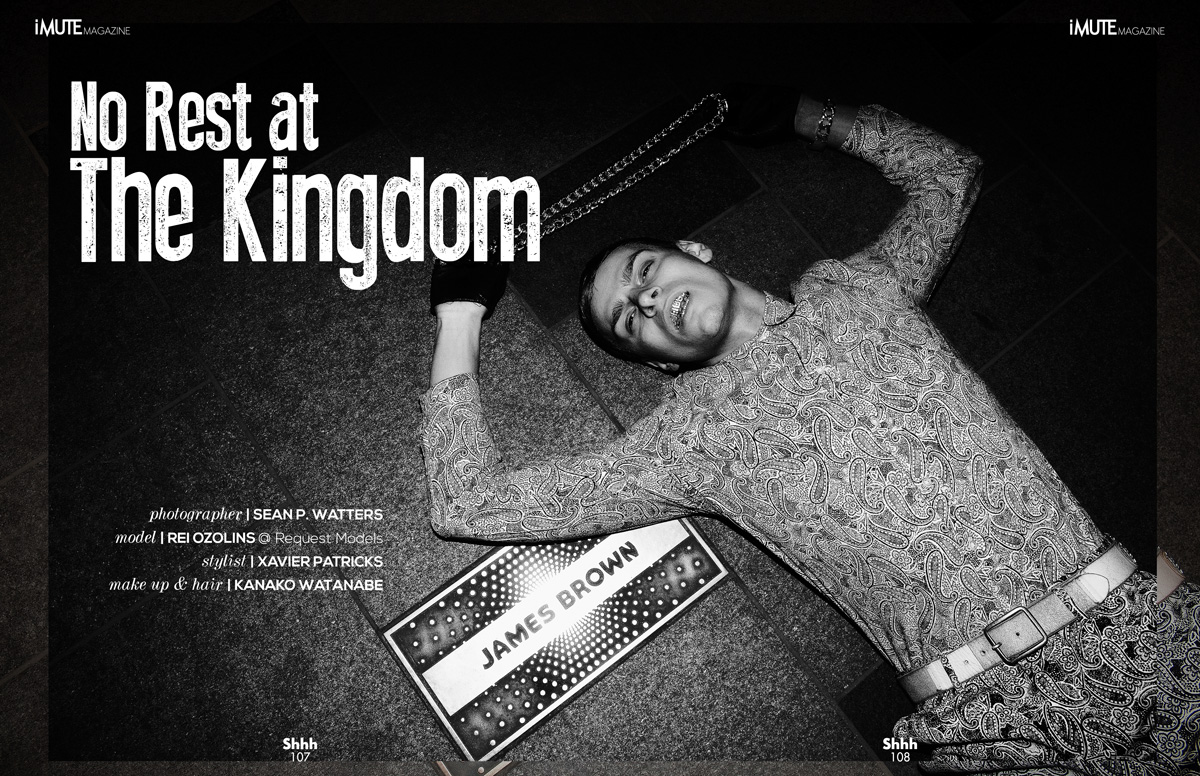 No Rest at the Kingdom Cover story iMute Magazine Spring Issue