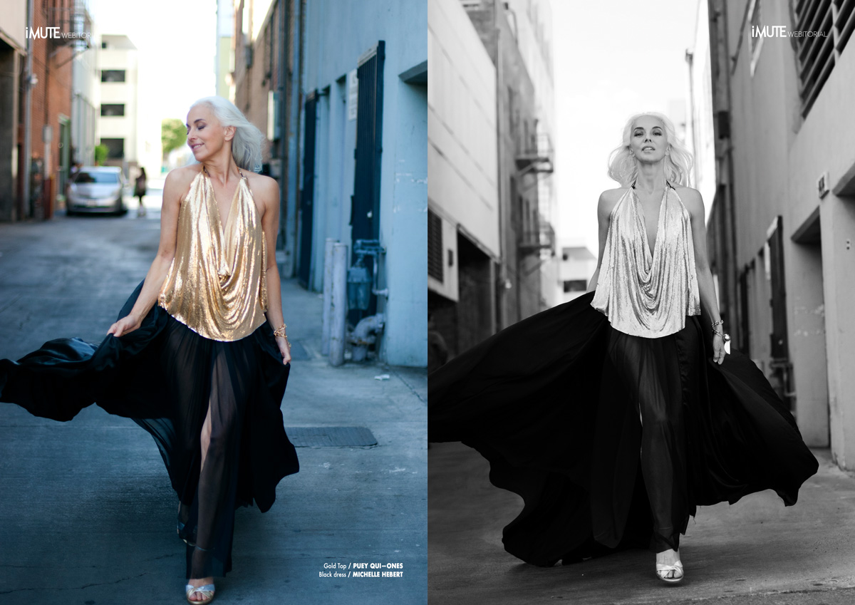 Timeless Lady webitorial for iMute Magazine5