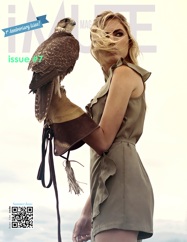 Cover Story Shapeshifter by Atcha Kim for iMute Magazine Issue 7
