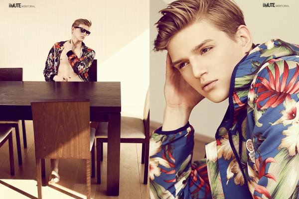 Fancy boy webitorial for iMute Magazine