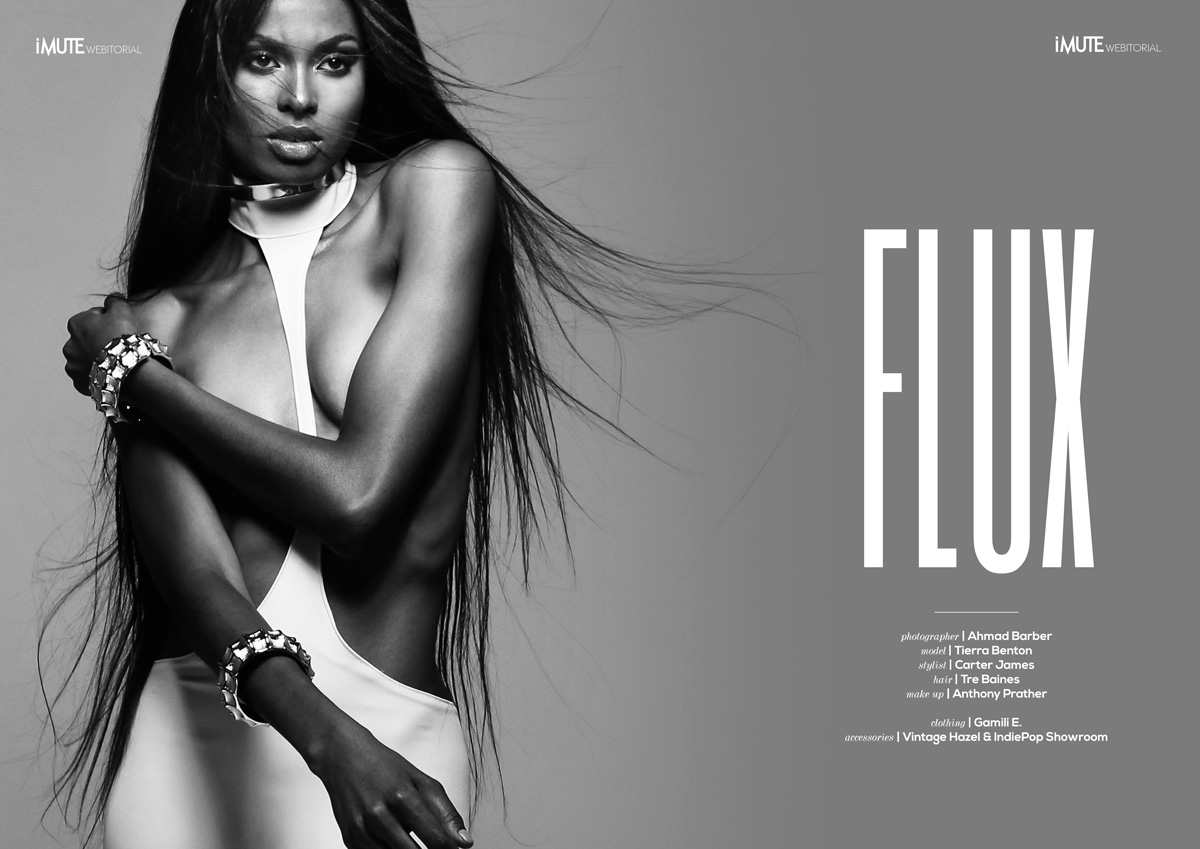 Flux webitorial for iMute Magazine