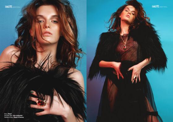 Above Fashion webitorial for iMute Magazine