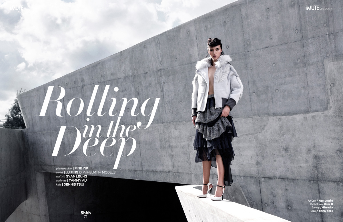 Rolling in the Deep - Cover Story for iMute Magazine Fall Issue #8