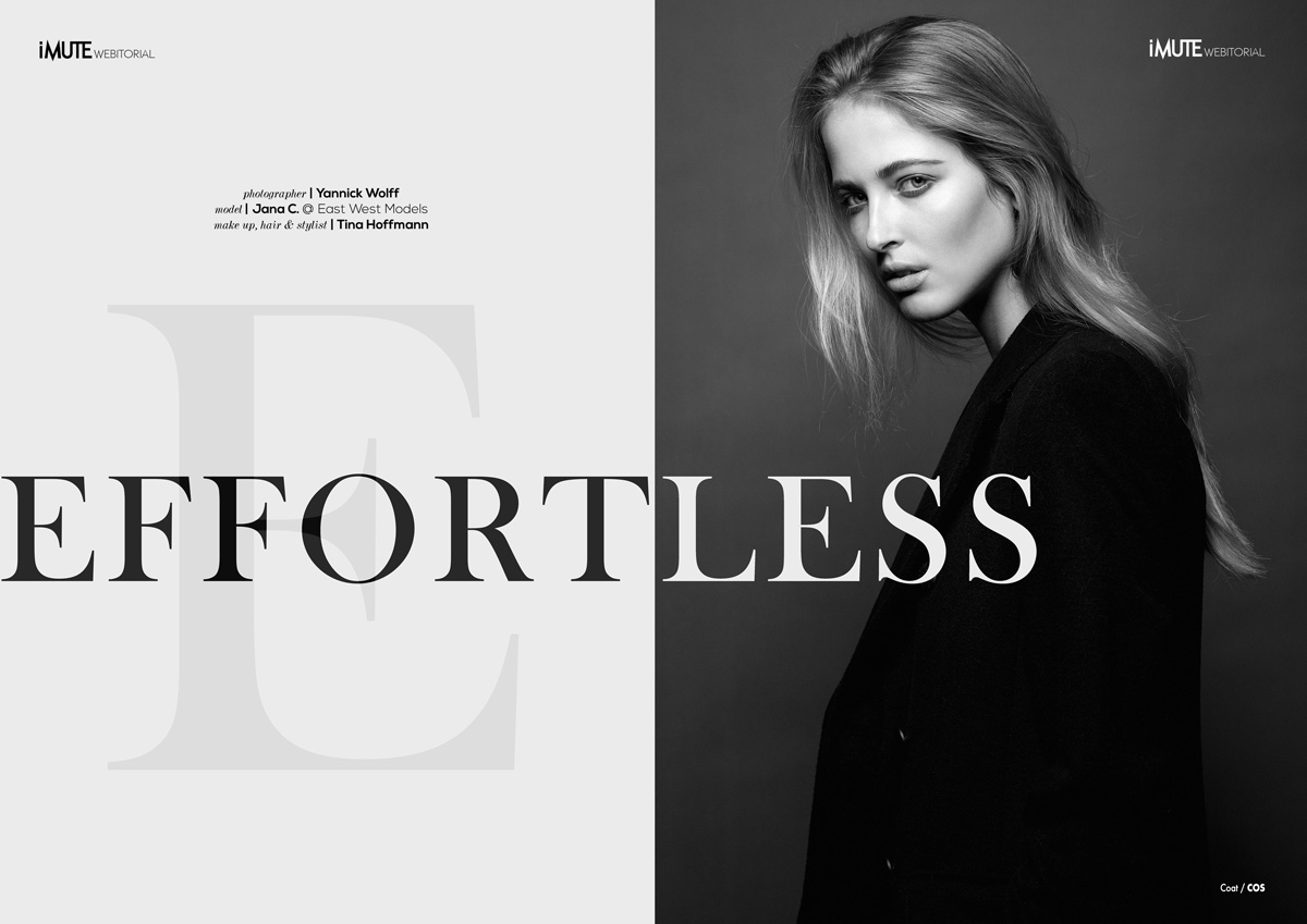 Effortless webitorial for iMute Magazine