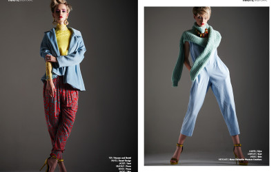 LIV N COLOUR webitorial for iMute Magazine