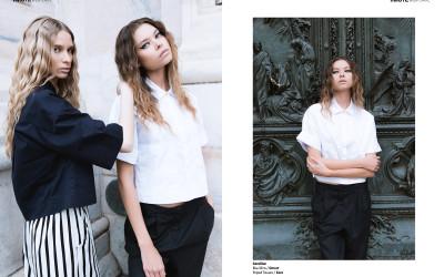 Porcelain Faces webitorial for iMute Magazine