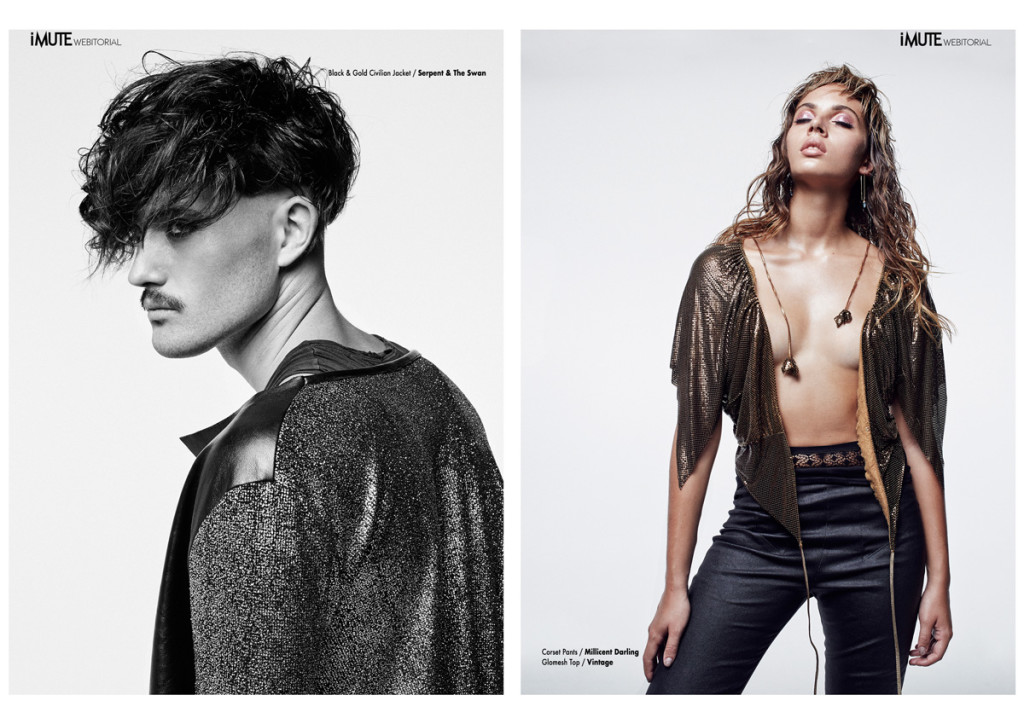 Tough Love webitorial for iMute Magazine Photographer / Walter Maurice Models / Tom Gollins & Isabelle Impala @ London MGT Sydney Stylist / Jessie Frost Make up / Maree Spagnol Hair / Liam James Moore @ Work Agency