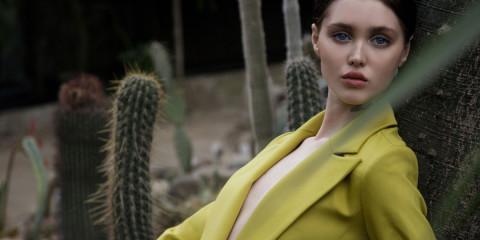 Into the jungle webitorial for iMute Magazine Photographer / Dmitry Krikun Model / Aliya @ Avant Models Stylist / Galya Maslennikova Stylist Assistant / Viola Velvet Make up / Olesya Kasatkina Location / Moscow Tropics