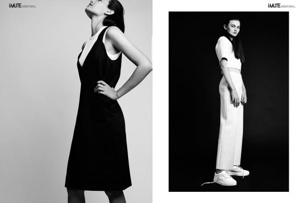 CARBONCOPY webitorial for iMute Magazine Photographer / Anne Peeters Model / Cassandra Keough @ IMG MODELS Stylist / Jillian Boustred Make up & Hair / Kyla Frank