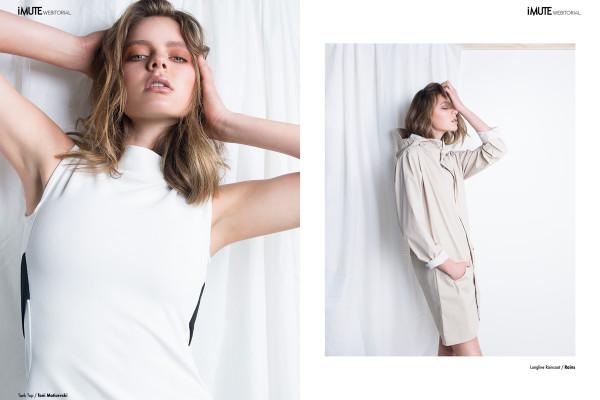 Eliza webitorial for iMute Magazine Photographer / Carmen Rose Model / Eliza @ Pride Models Stylist / Cat Morrison Make up & Hair / Gabbie Ward Stylist Assistants / Marwa Hammoud & Trudi