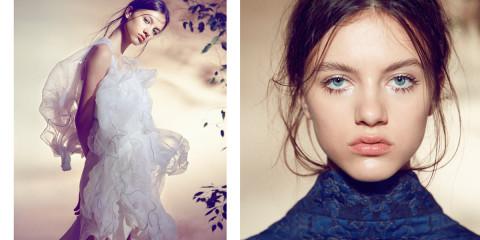PURE & WILD webitorial for iMute Magazine Photographer / Jinling Xu Model / Vanesa @ Marilyn Stylist / Marie Revelut Make up / Fanny Renaud Hair / Auriane Lhermite