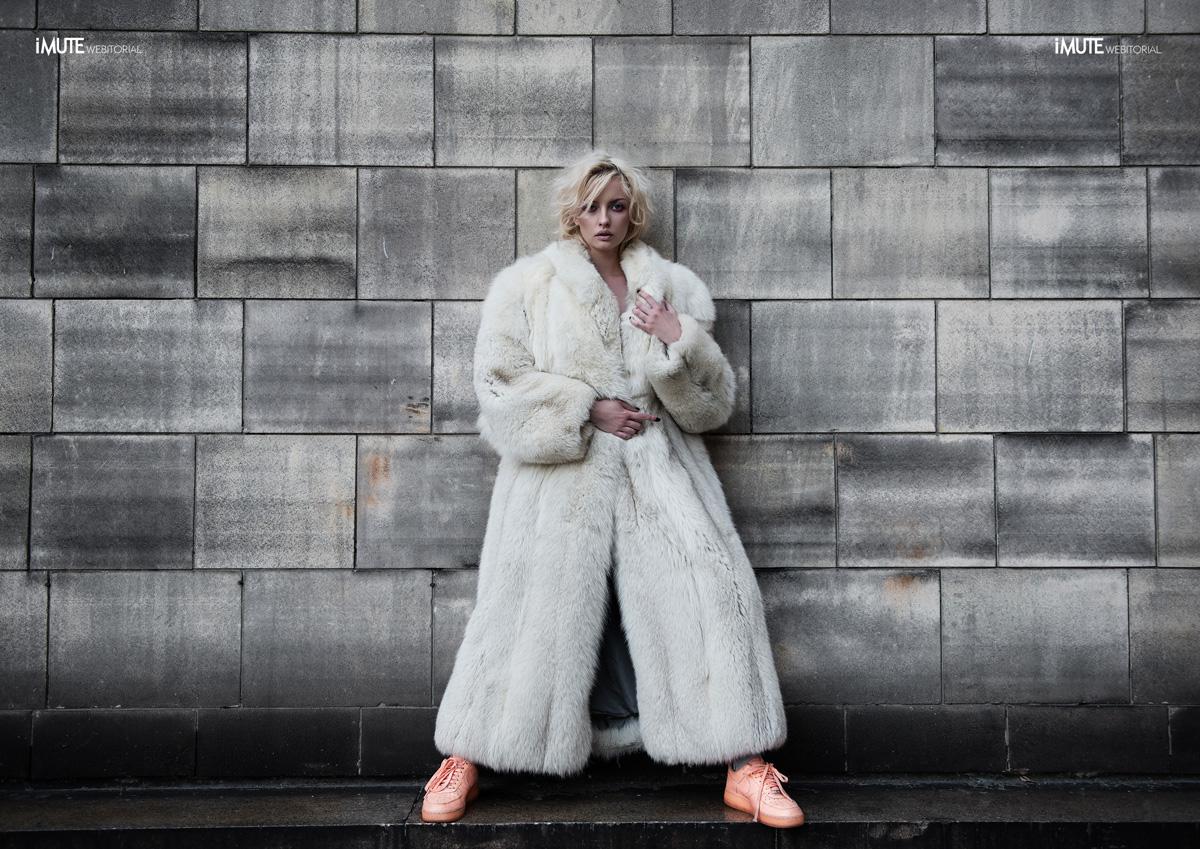 Dirty White webitorial for iMute Magazine Photographers / Koc & Stefanowski Model / Ewa Kępys Clothes / Vision of Art Fashion Make up & Hair / Vision of Art Fashion