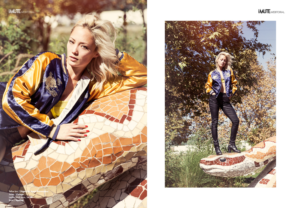 Strange Days webitorial for iMute Magazine Photographer / Shanna Fisher @ Day Reps Actress | Model / Pom Klementieff