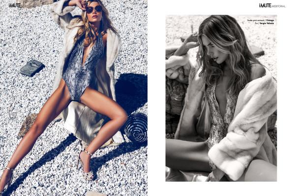 Hannah webitorial for iMute Magazine Photographer / Ben Tsui Model / Hannah Kirkelie @ Wilhelmina LA Stylist / Adrien Rabago Make up & Hair / Kathleeen Ty
