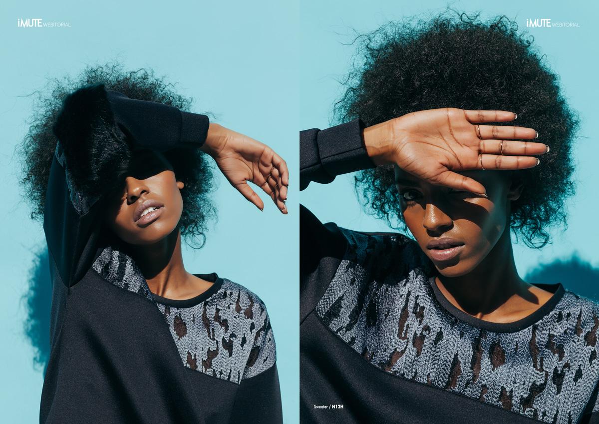 L.A. WINTER webitorial for iMute Magazine Photographer / AARON FEAVER Model / VERONICA @ NEXT Creative Director & Stylist / SARAH KINSUMBA Make up & Hair / MARYGENE ROSE