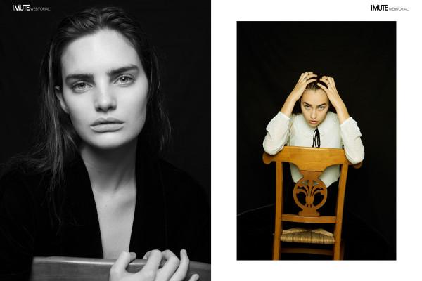 The chair webitorial for iMute Magazine Photographer & Stylist / Cynthia Frebour Models / Ludmilla & Delfina @ Karin Models Clothes / ZARA