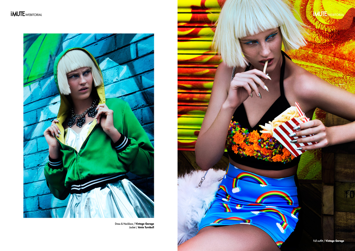 Color Madness webitorial for iMute Magazine Photographer / Sury Thoeng Model / Hannah Kairies @ Chadwick Models Stylist / Josie McManus Make up / Maria Gullace Hair / Hermiz Daniel @ Joey Scandizzo Salon Nail Artist / Lunel @ Laqué Melbourne using CND & Minx