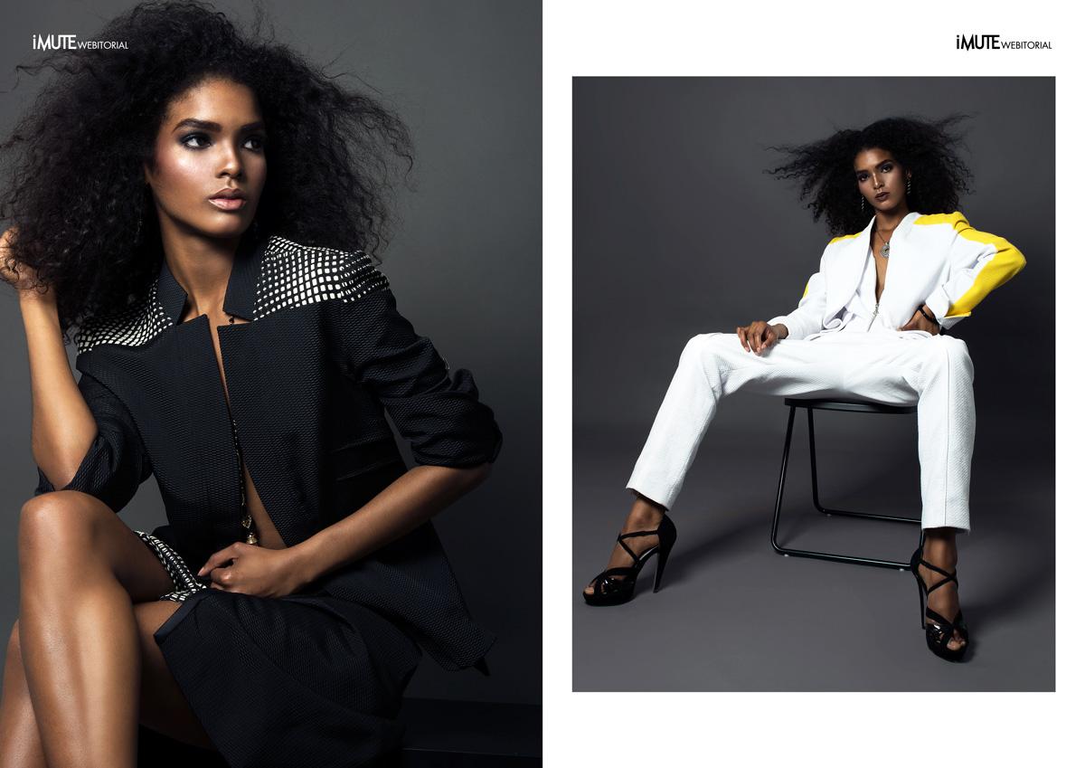 Galaxia webitorial for iMute Magazine Photographer / Alex Gonzalez Model / Galaxia @ Wilhelmina Models New York Stylist / Jorge Santos Make up & Hair / Eliotte Casimiro Clothes / Patrik Love