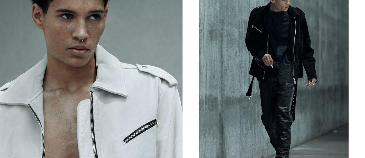 Markel webitorial for iMute Magazine Photographer / Eduardo Figueroa Model / Markel Williams @ Next Models Stylist / McCall Alexandra Grooming / Karl Pua Designer / Stefan Grant