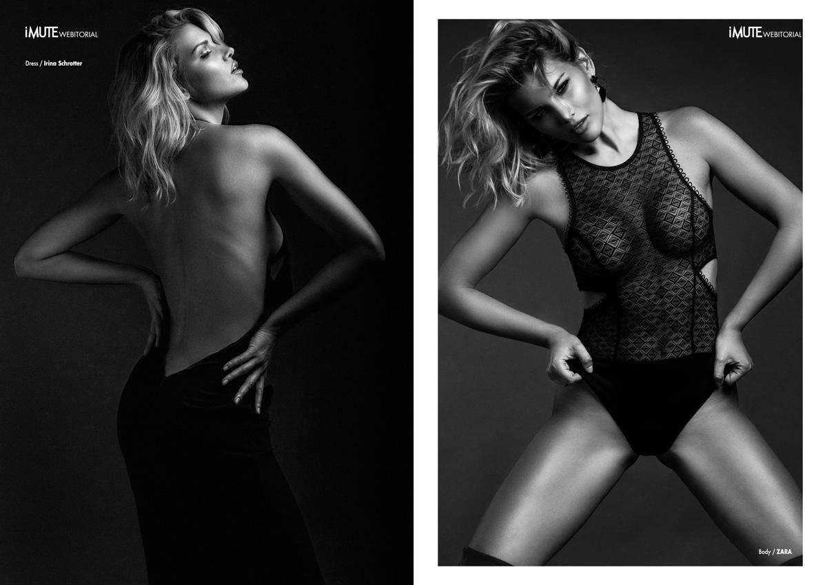 SEDUCTION webitorial for iMute Magazine Photographer / ADRIAN IVAN Model / GABRIELA ILIESCU @ ELITE Stylist / MOHAMED MAGDA Make up / ROMELIA PELIN Hair / GEORGE COZMA