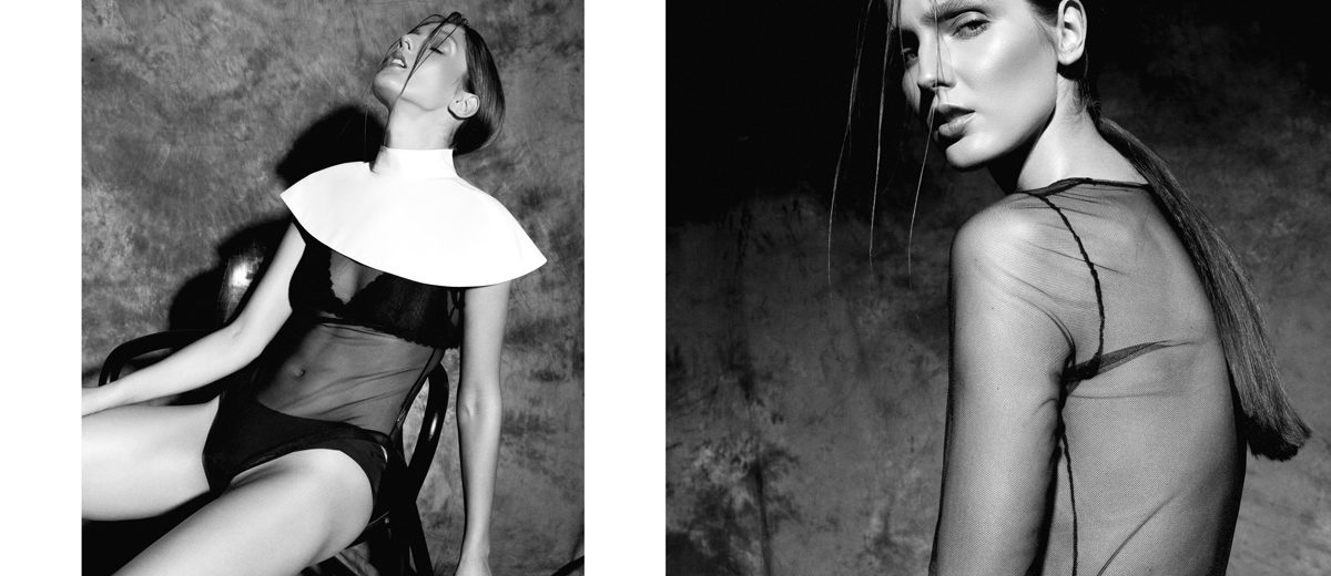 X Sins webitorial for iMute Magazine Photographer / George Pruteanu Model / Ana Gilca @ Mandarina Models Stylist / Irinia Hartia Make up / Mihaela Cherciu Hair / Sarghie Sebastian