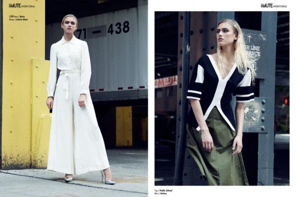 Cargo 71-438 webitorial for iMute Magazine Photographer / Michaël Descoteaux Model / Gillian Deery @ Marilyn Models NY Stylist / Madison Hopkins Make up & Hair / Zoe Selig