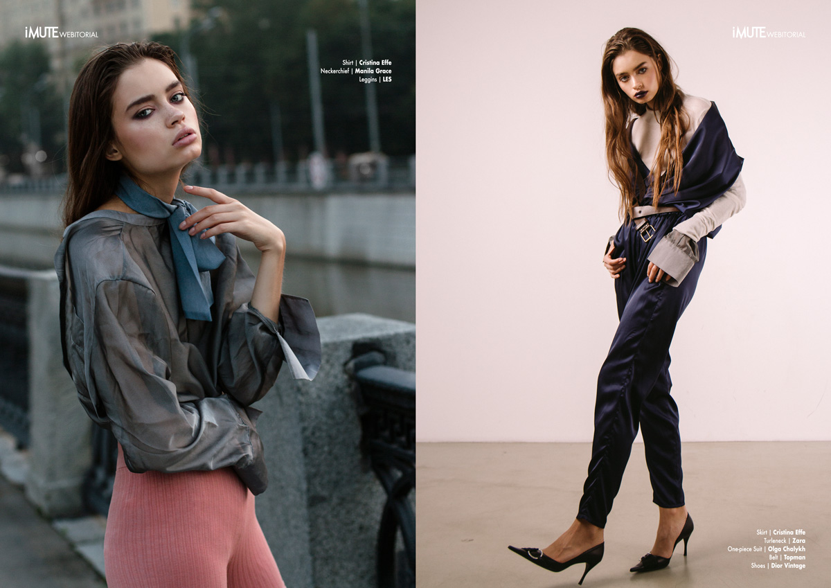 Goddes of the Dawn webitorial for iMute Magazine Photographer / Egor Melikhov Model / Lisa @ Women Milano Stylist / Polina Vinogradova Make up & Hair / Gev Petrosyan