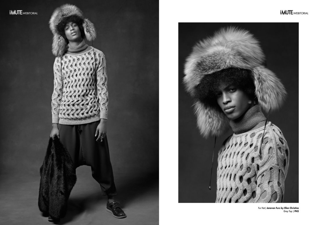 KingCONrad webitorial for iMute Magazine Photographer / Marc Tousignant Model / Conrad Bromfield @ Ford Models Stylist / Mike Stallings Make up / Hector Espinal Hair / Dante Blandshaw