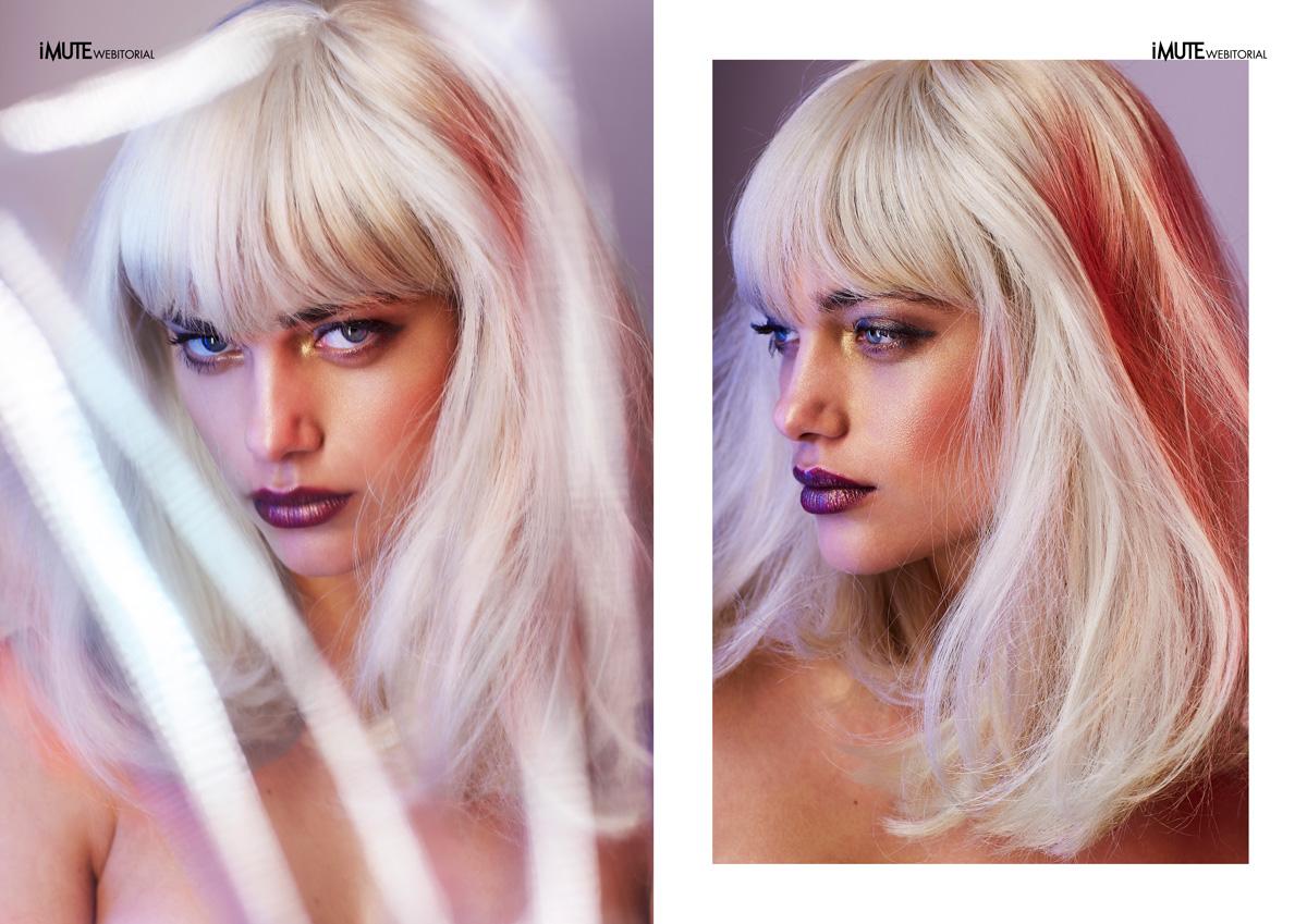Static webitorial for iMute Magazine Photographer / Vaughan Treyvellan Model / Danika Pienaar @ Boss Models Make up / Jessica Le Clos @ SIXLOVE
