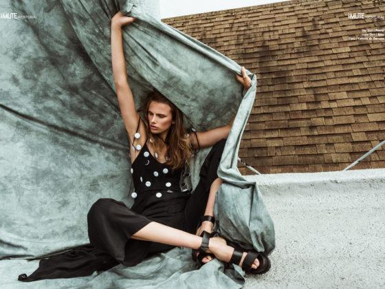 Swept webitorial for iMute Magazine Photographer / Jen McGowan Model / Lea Celine @ Look Model Agency Stylist / Michelle Rivet Make up / Jill Marie Hair / Salma Rocha