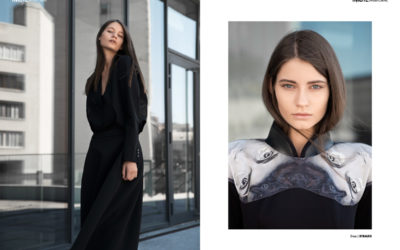 katerina webitorial for iMute Magazine Photographer / Dariya Soroka Model / Katerina @ Ecos Models Stylist / Mari Polkanova Make up / Evgenia Vasylenko