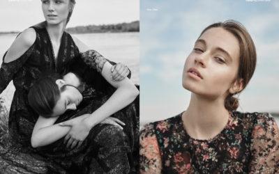 Autumn Flowers webitorial for iMute Magazine Photographer / Piotr Krawczyk Models / Pola & Monika @ Mango Models Stylist / Aleksandra Kudyba Make up / Ania Akincza