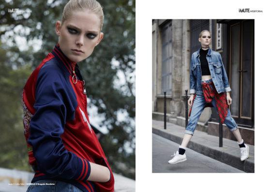 Laura webitorial for iMute Magazine Photographer / Lucille Delabarre Model / Laura Winter @ Girl Club Management Stylist / Angelique Lancelle Make up / Enzo Fournier