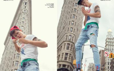 NEW YORK CITY BOY webitorial for iMute Magazine Photographer / Alberto Magno Model / Mario Adrion @ One Management Stylist / Julio Nuño