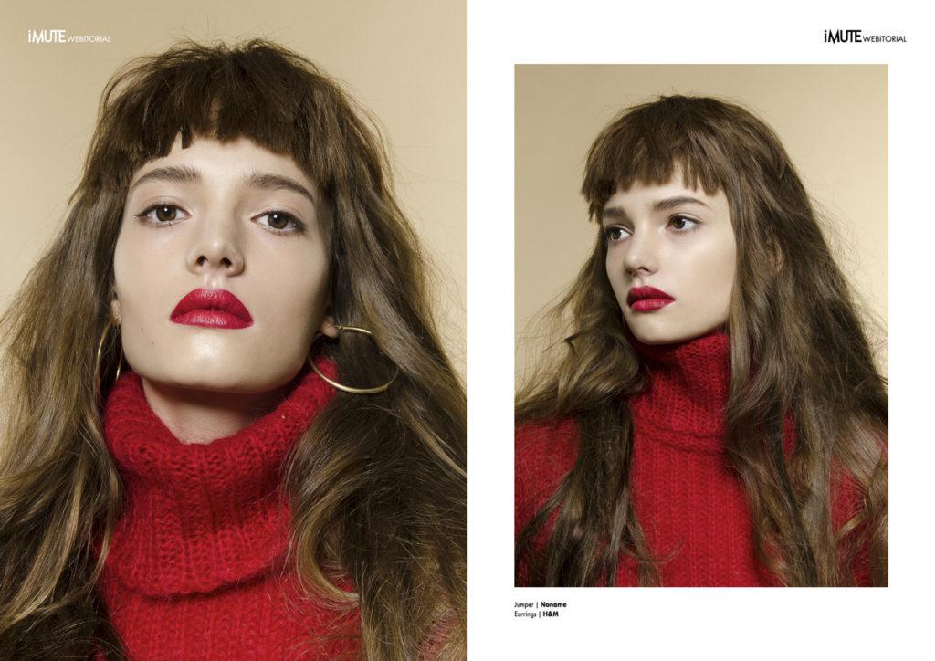 Kate webitorial for iMute Magazine Photographer & Stylist / Virginia Ateh Model / Kate @ Grace Models Make up & Hair / Natalia Lime