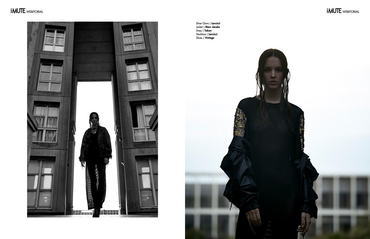 Kalyn webitorial for iMute Magazine Photographer / DeMarcus Allen Model /Kalyn @ Marilyn Agency Paris Stylist / Cem Cinar Make up / Isis Moenne Hair / Rimi Ura