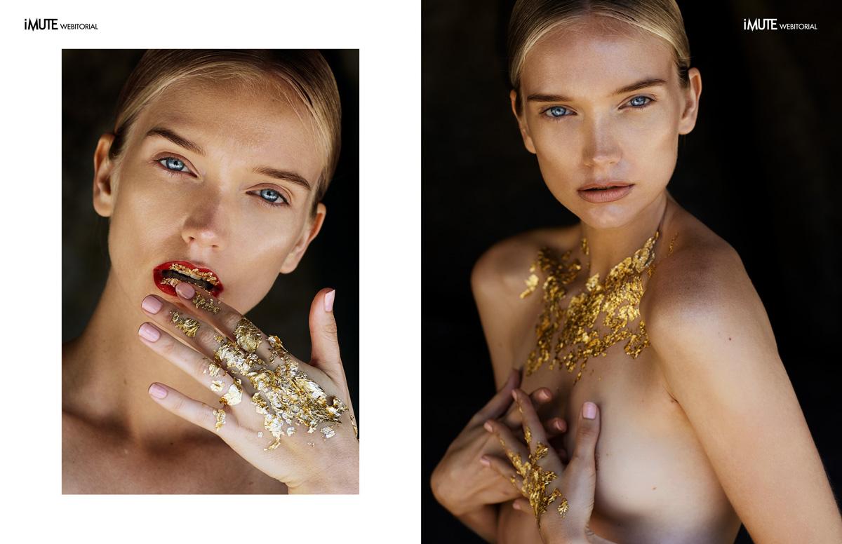 Midas webitorial for iMute Magazine Photographer / Vaughan Treyvellan @ One League Model / Shannon Phillips @ Boss Models Make up & Hair / Natasha Papadopoulos @ Supernova Creative Management