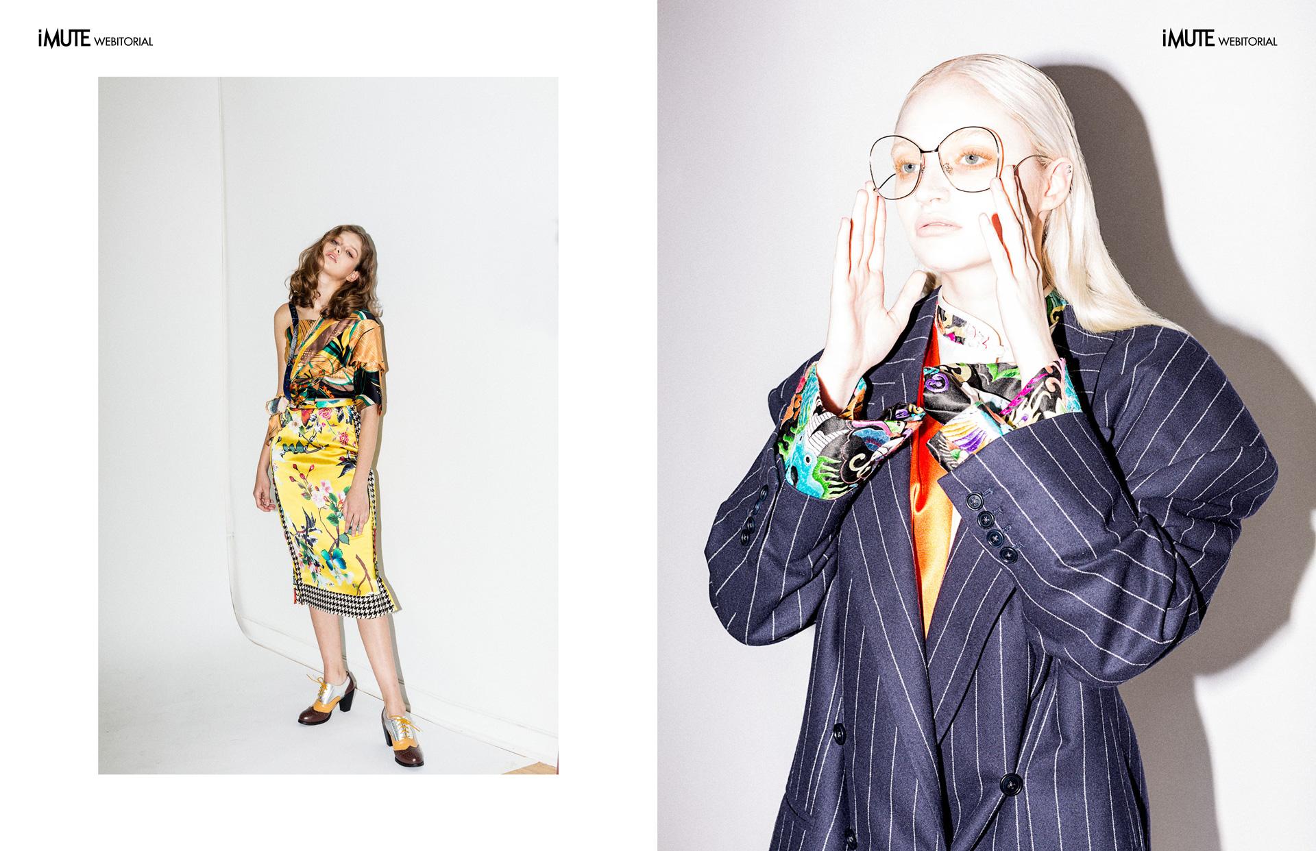 ODDITY webitorial for iMute Magazine Photographer   Kimiko Chan Model   Brii Hocutt & Izabela @ MSA Models Designer   Snow Xue Gao Make up   lulu Lin