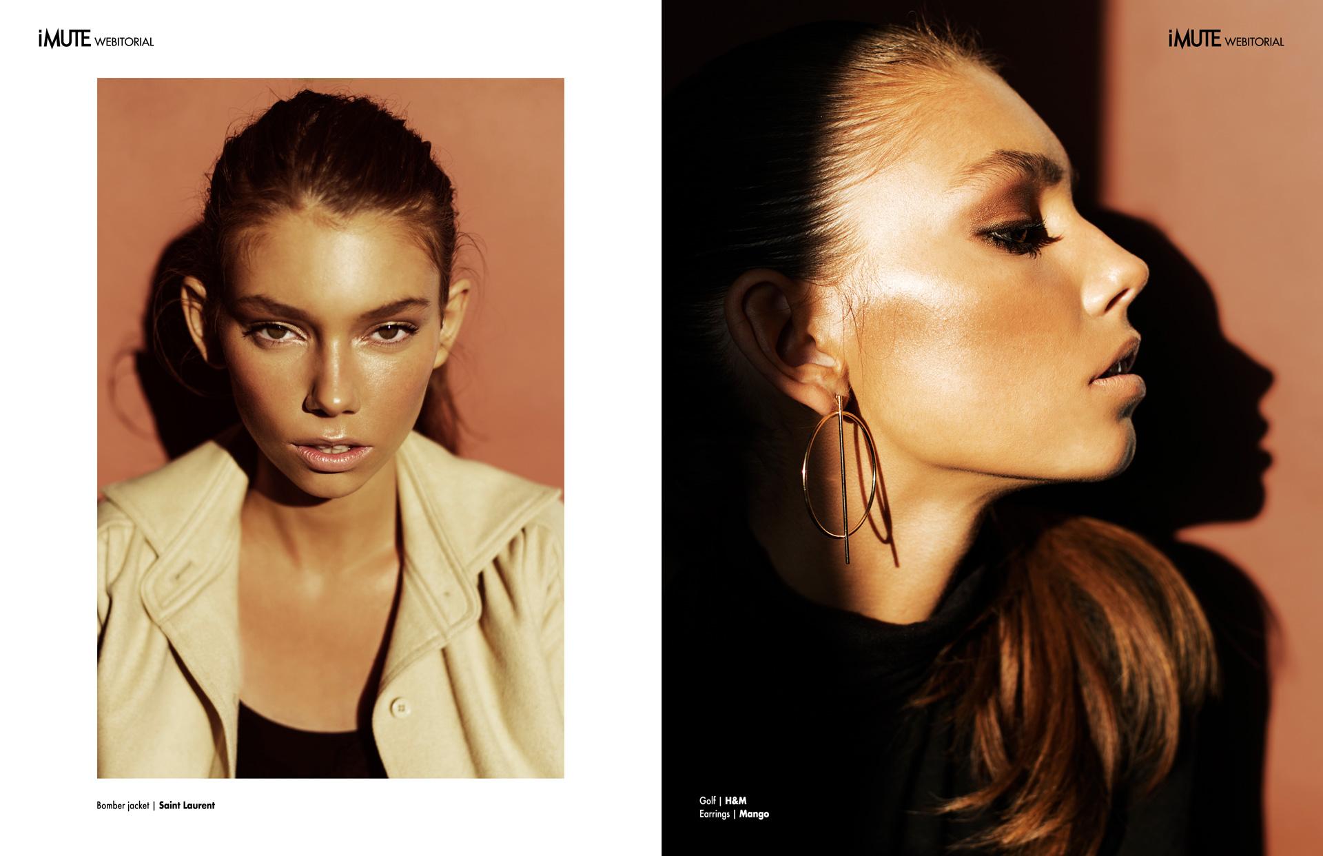 Alicja webitorial for iMute Magazine Photographer | Magdalena Kozicka Model | Alicja @ New Age Models Stylist | Agnieszka Anikin @ Art of Style Make up | Katarzyna Biały
