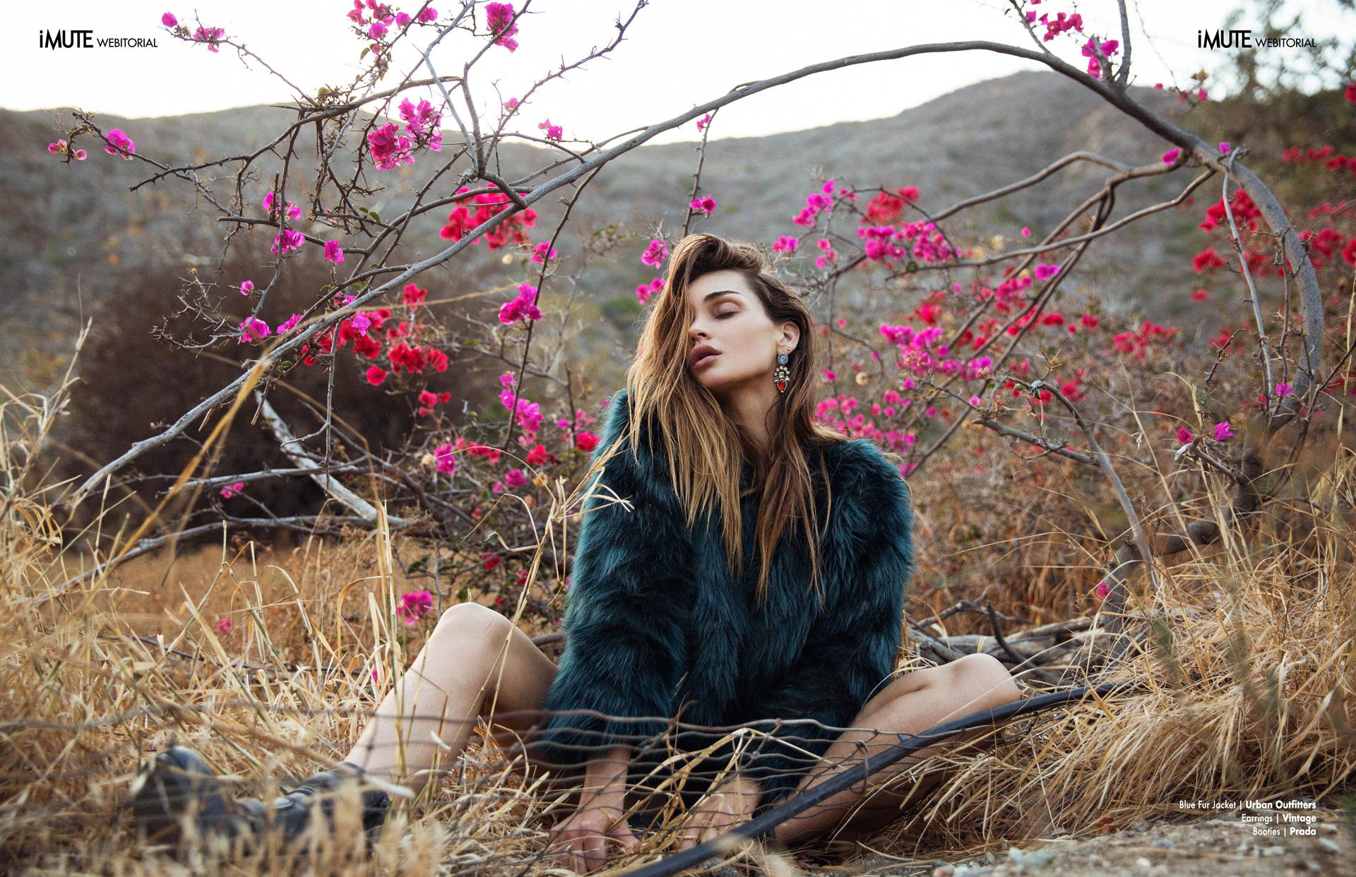 Allie webitorial for iMute Magazine Photographer | Andrew Parsons Model | Allie Crandell @ Photogenics LA Stylist | Kim Brooks