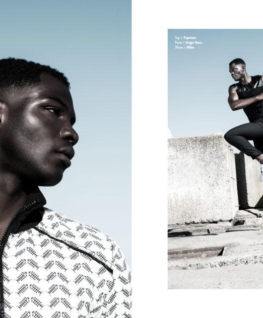 Breakwater webitorial for iMute Magazine Photographer | Tobias Marcus Model | Dennis Yeboah @ Twenty Model Management Styling | Style Council Grooming | Hanna Deuß