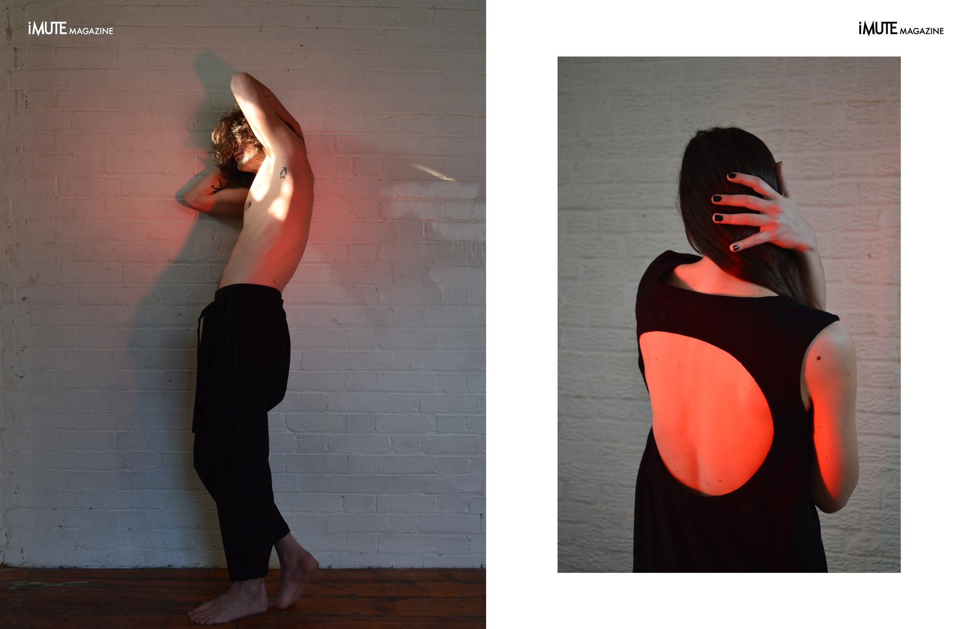 Deep End advertorial for iMute Magazine Clothes | Clon8 Photographer & Creative Director | Kostis Fokas Models | Scott Temple @ Premier Model Management & Nikoleta Michalodimitraki Stylist | Angelika Chilikova