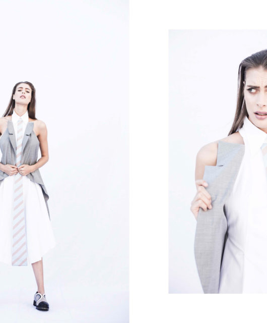 JOHNA STONE SS 17 look book for iMute Magazine Designer | Johna Shi Photographer | Danny Roche Photographer (Shoes) | Daniel Li Model | Claire De Regge @ New York Model Management Make up & Hair | Kayleigh Hayes