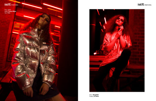 nightlights webitorial for iMute Magazine Photographer | Kamil Rutkowski Model | Karolina @ TFM Berlin Stylist | Doreen Kipping Make up & Hair | Deborah Meier