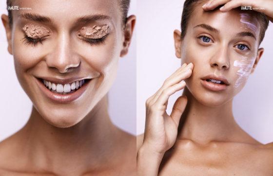perfect skin webitorial for iMute Magazine Photographer | Vaughan Treyvellan @ One League Model | Martina @ 3D Model Agency Make up | Natasha Papadopoulos @ Supernova Creative Management