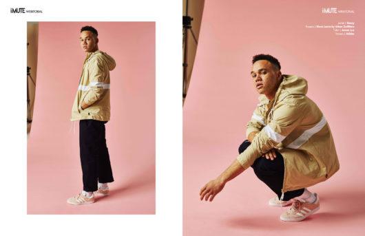 Pink Noise webitorial for iMute Magazine Photographer | Nikita Raja Model | Hamad @ J'adore Models Stylist | Sarah Hills-Smith @ Boss Model Management Grooming | Jemma Stokes @ Boss Model Management