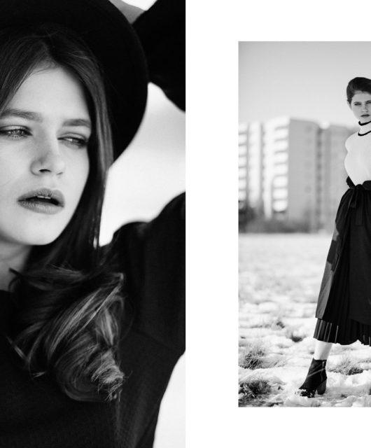 The Walk webitorial for iMute Magazine Photographer | Veronika Bures Model | Marta Marghidanu @ Most Wanted Models Desigenr & Stylist | Christina Kiker Make up & Hair | Laura Bre