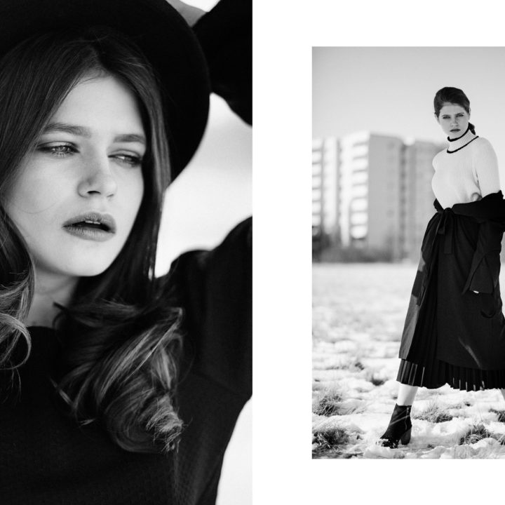 The Walk webitorial for iMute Magazine Photographer   Veronika Bures Model   Marta Marghidanu @ Most Wanted Models Desigenr & Stylist   Christina Kiker Make up & Hair   Laura Bre