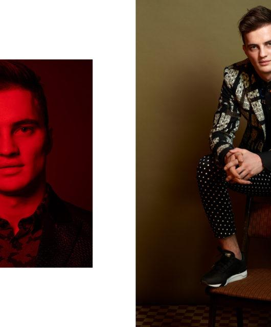 Tricky Minds webitorial for iMute Magazine Photographer | Piotr Krawczyk Model | Patryk Grudowicz @ Avant Models Stylist | Milena Bekalarska Make up & Hair | Anna Akińcza