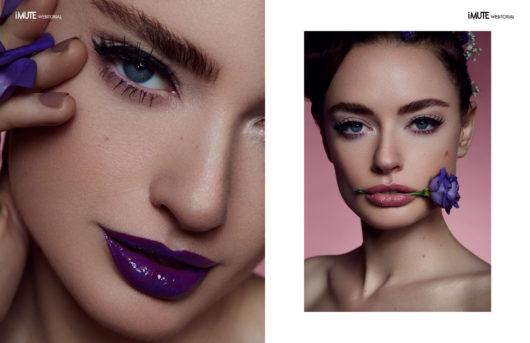 Innerbloom webitorial for iMute Magazine Photographer | Lara Gilles Model | Amanda @ Core Management Make up & Hair | Jennifer Galle using Lancôme & YSL